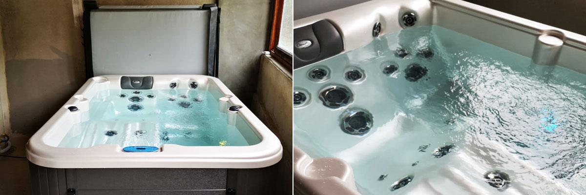 Spa intérieur 3 places : modèle ES76R Clearwater Spas